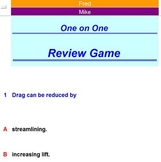 One on One Review Activity - Classroom License  A Pinkley Product