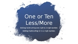 One or Ten Less/More