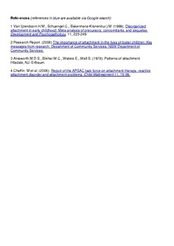 One page Attachment Types description guide