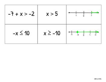 One-step Inequalities Matching Game
