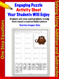 One-step linear equations using addition and subtraction (