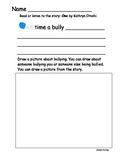 One time a bully....creative writing