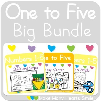 Numbers 1-5: The Bundle