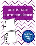 One-to-One Correspondence