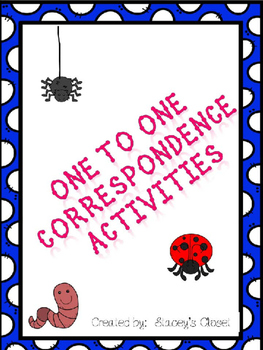 One-to-One Correspondence Activities