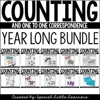 Counting & One-to-One Correspondence Activities{A Growing Bundle}