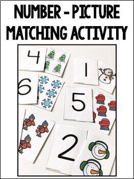 Counting & One-to-One Correspondence Activities {Winter Edition}