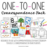 One to One Correspondence Activity Pack {Counting & Number