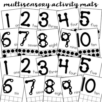 One to One Correspondence Activity Pack {Counting & Number Recognition}