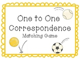 One to One Correspondence Activity-Sports Theme