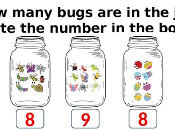 One to One Correspondence Counting Bugs