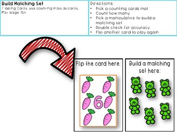 One to One Correspondence! Counting with Counters- April Edition!