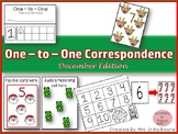 One to One Correspondence! Counting with Counters- Decembe