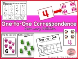 One to One Correspondence! Counting with Counters- February Edition!