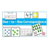 One to One Correspondence! Counting with Math Manipulative