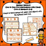 One to One Correspondence with Numbers 5-10 Using Candy Corn