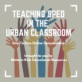 One-to-One Online Consultations for SPED Teachers
