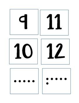 One-to-one Correspondence 1-20
