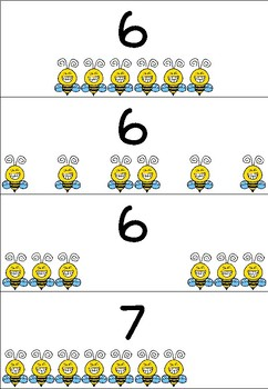 One-to-one correspondence - Numbers 1-10