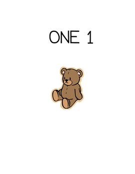 One to one correspondence (teddy bear)