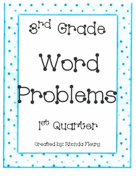 One week sample of Word Problems