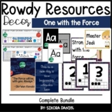One with the Force Decor Bundle | Star Wars Space Theme | Growing Bundle