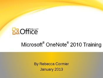 OneNote Instructions