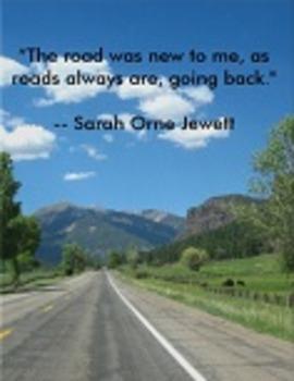 FREEBIE! Literary Quote Poster: Sarah Orne Jewett