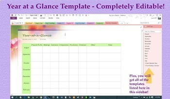 Digital Planner / Binder for OneNote