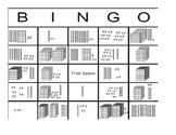 Ones, Tens, and Hundreds Place Value Bingo
