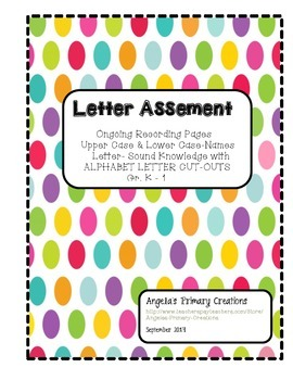 Ongoing Letter Name-Sound Assessment