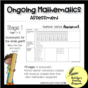 Stage 1 - Ongoing Mathematics Assessment