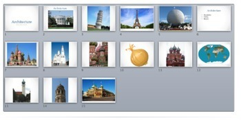 Art Lesson Plan. Elementary - Middle. Russian Onion Dome Architecture Sculpture