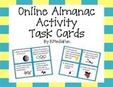 Online Almanac Activity Task Cards by KMediaFun