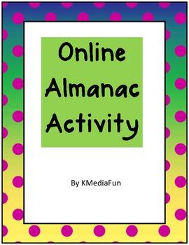 Online Almanac Activity by KMediaFun