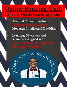 Online Banking Unit FREEBIE- Life Skills for High Functioning Autism