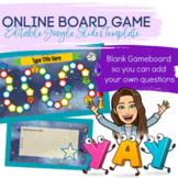 Online Board Game (Editable Google Slides Game Template)