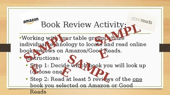 Online Book Review Lesson