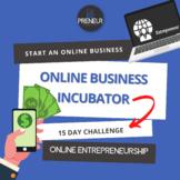 Online Business PBL Project: 15 Day Digital Entrepreneurship Challenge