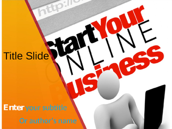 Online Business PPT Template