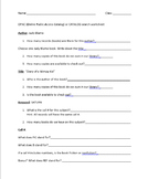 Online Card Catalog Practice (Destiny)