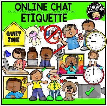 Etiquette At School Clip Art Bundle {Educlips Clipart} by Educlips