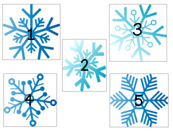 Online Class Reward System: Christmas/Winter Themed
