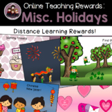Online Class Reward System: Misc. Holidays 1