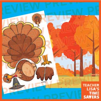Online Classroom Holiday Thanksgiving Turkey Reward Set VIPKID