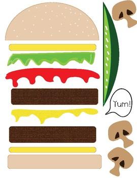 Online Classroom (VIPKid, QKids, DadaABC) Hamburger Reward Incentive