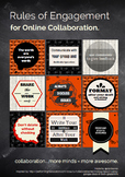 Online Collaboration Tips Poster