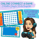 Online Connect 4 Game (Editable Google Slides Game Template)