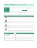 Online Course Planning Sheet - Lesson Planning Worksheet