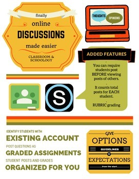Online Discussion Handout for Teachers